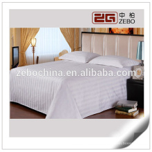 Polyester and Cotton Mixed 3cm Stripe Cheap Wholesale Bed Sheet
