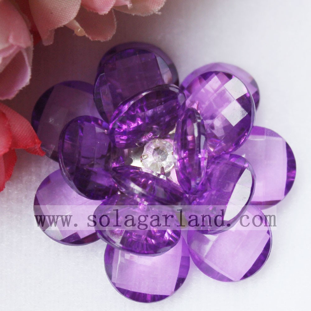 Clear Plastic Artificial Flowers