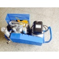 Portable diving scuba tank breathing air compressor