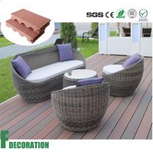 Materiales de construcción impermeables al aire libre Compuesto plástico de madera WPC decking