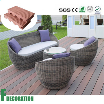 WPC Outdoor Waterproof Decking