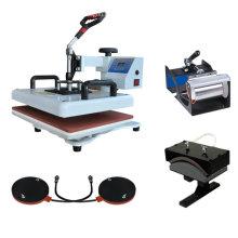 Freesub Hersteller T-Shirt Tassen Teller Caps multifunktionale Combo 8 in1 Wärme Pressmaschine
