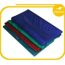 Precio bajo Guinea Damasco FEITEX Bazin Riche Tela de Textiles de Algodón de África Para Boubou Ropa Al Por Mayor