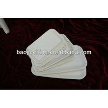bandeja de plástico con sello de calor