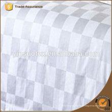 Algodão branco tecido de hotel 5 estrelas para conjunto de cama, 173 * 120