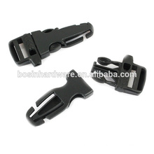 Fashion High Quality New Design Side Release Buckle With Whistle