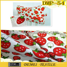 pretty printed polyester cotton pillow fabric