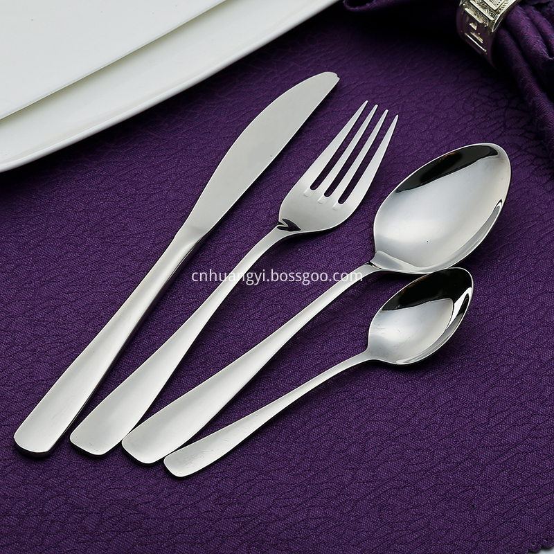 Refinement Stainless Steel Flatware