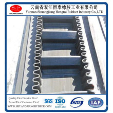 Corrugated Sidewall Conveyor Belt (EP/NN/cotton)