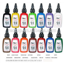 Professional High quality Tattoo Ink 0.5OZ