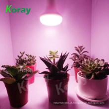 PLANTAS EM CRESCIMENTO DENTRO! LED espectro completo cresce a luz da lâmpada 9W