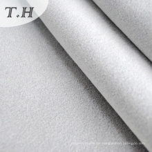 Beflocktes dekoratives Gewebe in der weißen Farbe