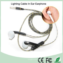Eingebaute Mikrofonbeleuchtung im Ear Luminous MP3 Kopfhörer (K-700)
