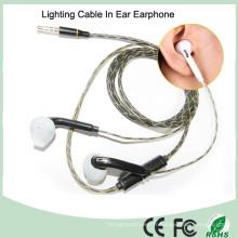 Éclairage intégré de microphone dans l'oreille écouteur MP3 lumineux (K-700)