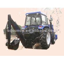 Traktor-Löffelbagger