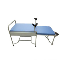 a-179 Hot Sales Manual Plastic-Sprayed Hospital Delivery Bed