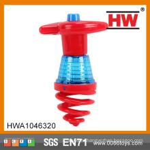 Горячая электрическая игрушка «Сверкающая верхушка» (красный зелёный ассорти)