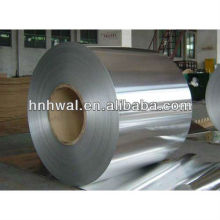 Aleación de aluminio de alta calidad 8011 temperamento h14 y h16 bobina de aluminio de calibre ligero para tapas y aluminio