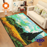 High Definition Oil Painting Floor Mat