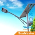 Outdoor 5m6m7m 8m Pole Solar Road Light Path Light Garden Light with Advertisement Box