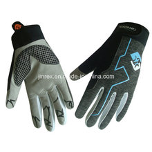Sports Mountain Bike Motorcycle Cycling Gel Pads Full Finger Glove
