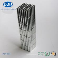 Diâmetro 3 * Comprimento 11 mm Neodymium Cylinder Magnet