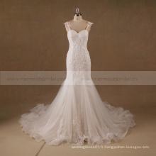 Guangzhou mariée robe nuptiale plus taille