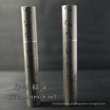 tubo de rímel de alumínio