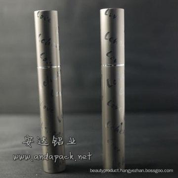 aluminum mascara tube