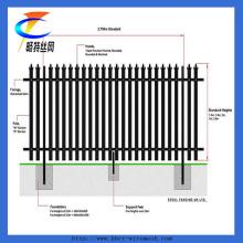 PVC-beschichtete Metall Picket Palisade Zaun