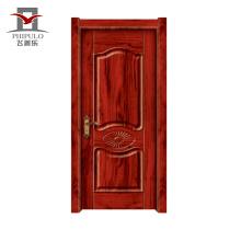 Puerta de madera maciza a prueba de sol del último estilo moderno con diseño de puerta interior hecho en china