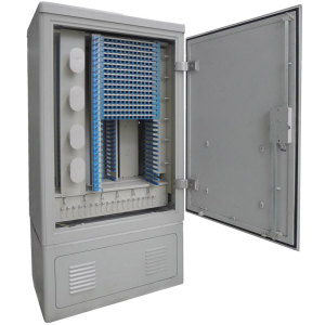 Ftth 96 Core Fiber Optic Terminal Cabinet