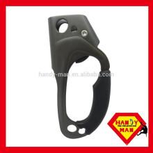 Escalada de alumínio CE EN567 AAD-0328-L 8mm 13mm Ascensão manipulada mão esquerda Ascneder