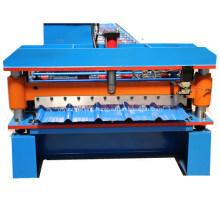 Metal Glazed Trapezoidal IBR Roofing Sheet Making Machine