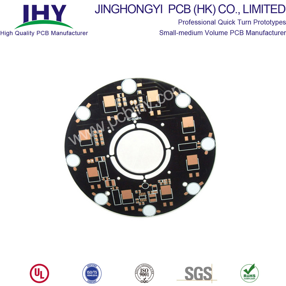 LED PCB Board Black Picture