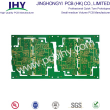 12-laags PCB TG180 dompelgoud