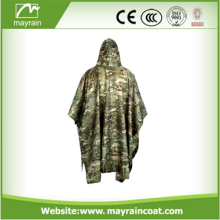 PVC Coated Military Rain Poncho