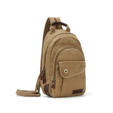 Unisex Vintage Canvas Sling Bag Crossbody Backpack