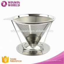 Venta caliente promocional del regalo del día de San Valentín de la Navidad sin papel K-Cup filtro de café / café goteador