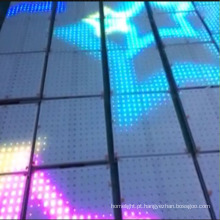 Top Venda 3D Tempo Túnel Fazer RGB LED Vídeo Dance Floors Luz DJ