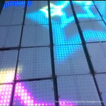 Luz a todo color impermeable interactiva del piso de la danza del LED IP65 en venta
