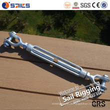 1-1 / 2 '' Hot-Tip Galvanized Jaw Spannschloss