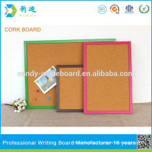 green rose red frame cork board