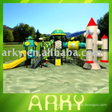 GS Certificated Children's Amusement Playground Plastic Playground Sets