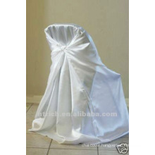 self-tie back chair cover,CT344 satin chair cover,universal chair cover