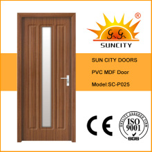 Designs de porte en PVC simple Sun City