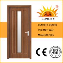 Projetos da porta do PVC de Sun City Single