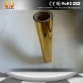 Película Mylar metalizada en oro para laminación de papel