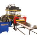 Máquina de prensado hidráulico para prensado de puertas.