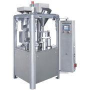 Pharmaceutical Automatic Capsule Filling Machine , Flat Plate Vertical Packaging Machine